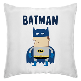 "Подушка ""Бэтмен"" - прикольные, комиксы, batman, супергерои, бэтмен"