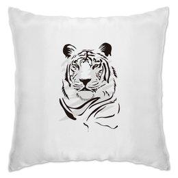 """Подушка """"Тигры"""" - хищник, животные, тигр, зверь, тигры"""