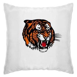 """Подушка """"Зверь"""" - хищник, животные, тигр, зверь, тигры"""