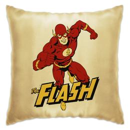 """Подушка """"Флэш """" - flash, комиксы, супергерои, флэш"""
