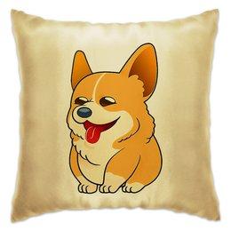 """Подушка """"Корги """" - няшка, песик, собачникам"""