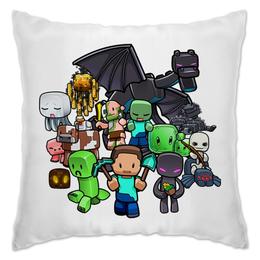 """Подушка """"Майнкрафт"""" - игры, minecraft, майнкрафт, геймерские"""