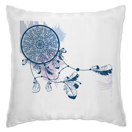 """Подушка """"Ловец снов"""" - арт, иллюстрация, символ, ловец снов, декор"""