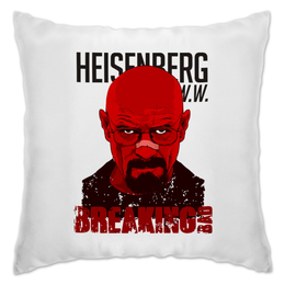 "Подушка ""Heisenberg Red"" - сериал, во все тяжкие, breaking bad"
