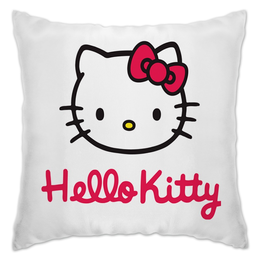 "Подушка ""Hello Kitty"" - кошка, hello kitty, хелло китти, каваий"