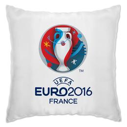"Подушка ""UEFA Euro 2016"" - футбол, football, евро, чемпионат, гол"