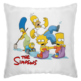 "Подушка """"The Simpsons"""" - симпсоны, the simpsons"