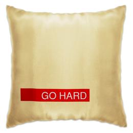 """Подушка """"GO HARD pillow"""" - go hard, go hard pillow, автоаксессуар"""
