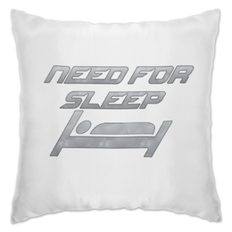 "Подушка ""Need For Sleep"" - need for speed, nfs"