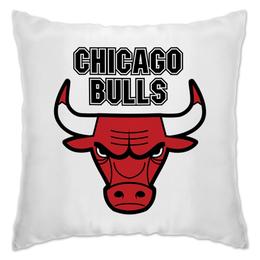 "Подушка ""Чикаго Буллз"" - спорт, баскетбол, chicago bulls, чикаго буллз"