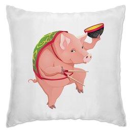"""Подушка """"Свинья"""" - новый год, 2019, год свиньи"""