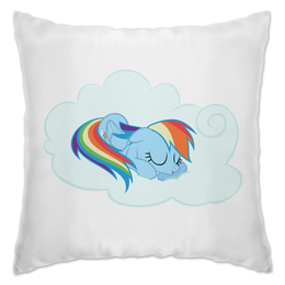 "Подушка ""Rainbow Dash Sleeping"" - pony, rainbow dash, mlp, my little pony, пони"