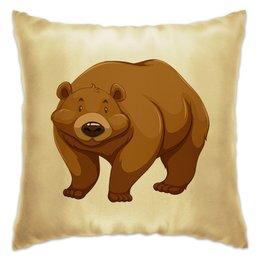 """Подушка """"Медведь"""" - медведь, мишка, медвежонок, медведица"""