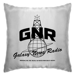 """Подушка """"Fallout. Galaxy News Radio"""" - игры, fallout, геймерские, gnr, galaxy news radio"""