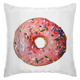 """Подушка """"Donut Dream"""" - еда, food, мечта, пончик, dream, donut"""