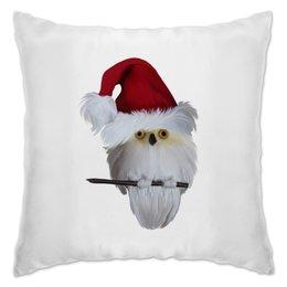 """Подушка """"Новый год"""" - праздник, новый год, птица, сова, птичка"""
