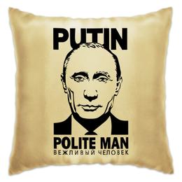 """Подушка """"Владимир Путин"""" - путин, putin, владимир путин"""