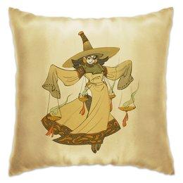 """Подушка """"Знак зодиака Весы"""" - интерьерная, подарок в дом, знак зодиака весы, подарок для весов, символ знака весы"""