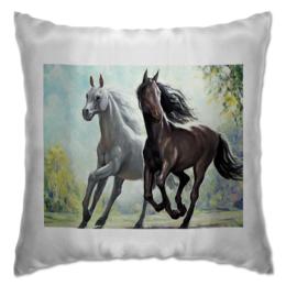 """Подушка """"лошади"""" - лошади, loshadi, horses"""