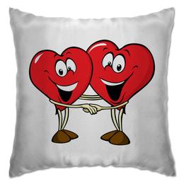 """Подушка """"Сердца"""" - сердце"""