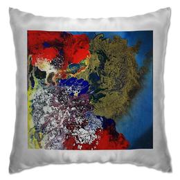"""Подушка """"земля"""" - арт, дизайн, абстракция, крутой дизайн"""