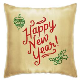 """Подушка """"Happy New Year"""" - new year, новый год"""