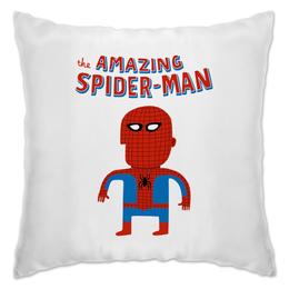"""Подушка """"Человек-паук"""" - прикольные, комиксы, супергерои, spider man, человек паук"""