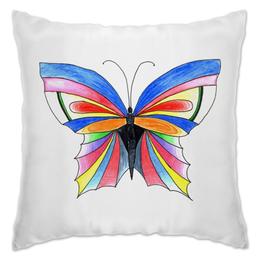 "Подушка "" Butterfly"" - бабочка, цвета, рисунок"