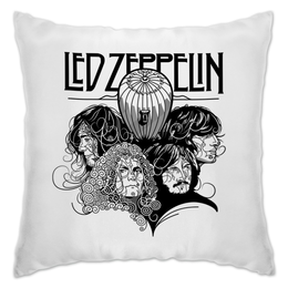 "Подушка ""Led Zeppelin"" - музыка, рок, группы, rock and roll, led zeppelin"