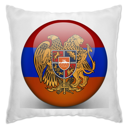 "Подушка ""Армения флаг Флаг Арме́нии"" - армения"