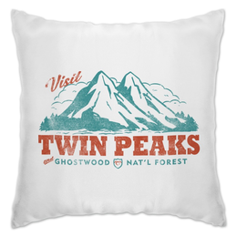 "Подушка ""Твин Пикс"" - сериалы, twin peaks, твин пикс"