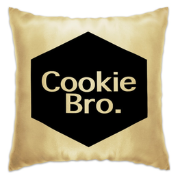 "Подушка ""Cookie Bro."" - cookie bro"