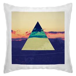 """Подушка """"Лесные просторы"""" - sky, небо, пирамида, лесные просторы"""