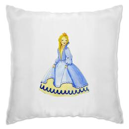 """Подушка """"Только для принцесс!"""" - для девочек, принцесса, сказки"""