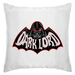 "Подушка ""Dark Lord"" - batman, бэтмен, звездные воины, темная сторона, star lord"