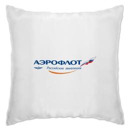 "Подушка ""АЭРОФЛОТ"" - aeroflot, аэрофлот, афл, afl"