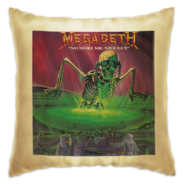 "Подушка ""Megadeth"" - megadeth rock metall"