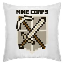 "Подушка ""Майнкрафт"" - minecraft, майнкрафт, mine corps"