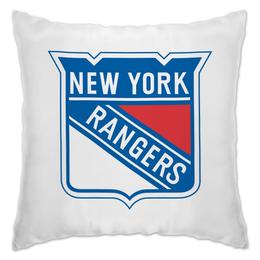 """Подушка """"New York Rangers"""" - хоккей, нхл, rangers, нью йорк рейнджерс"""