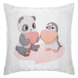 "Подушка ""Cute Love"" - любовь, love, сердечки, мило"