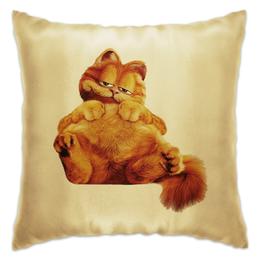 """Подушка """"Гарфилд"""" - кот, еда, гарфилд"""