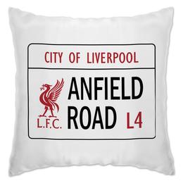 """Подушка """"Футбольный клуб Liverpool"""" - футбол, ливерпуль, liverpool, lfc"""