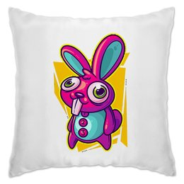 """Подушка """"Зайка"""" - заяц, кролик, животное, зайчик"""