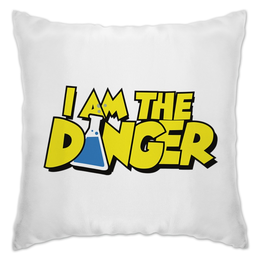 "Подушка ""I Am The Dander"" - во все тяжкие, breaking bad, сериал"