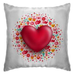 """Подушка """"Сердце"""" - сердце, валентинка, день св валентина"""