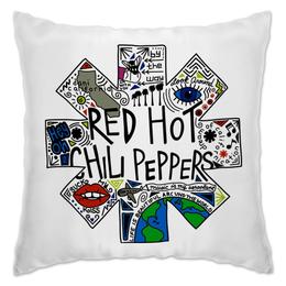 "Подушка ""Red Hot Chili Peppers"" - музыка, рок, группы, red hot chili peppers, rhcp"