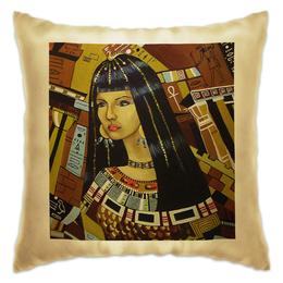 """Подушка """"Клеопатра """" - рисунок, история, египет, знаменитость, клеопатра"""