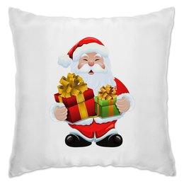 """Подушка """"Новый год"""" - праздник, новый год, зима, дед мороз, санта"""
