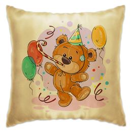 """Подушка """"Мишка Тэдди"""" - медвежонок, игрушка, праздничный, подарочный, мишка тэдди"""