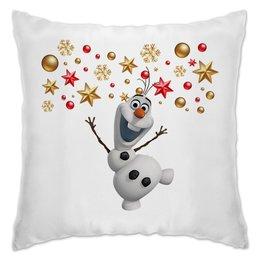 """Подушка """"Холодное сердце"""" - мульт, снеговик, холодное сердце, olaf, олаф"""